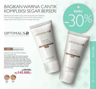 Optimals Even Out Multi-Targeting CC Cream SPF 20