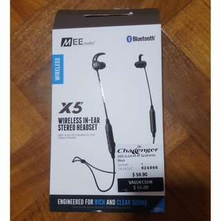 MEE audio wireless in-ear stereo bluetooth magnet earphones w microphone + magnet