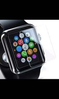 Apple iwatch 42mm 屏幕貼膜 (全覆蓋 $22/ 部分覆蓋 $20)