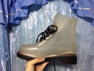 Transparent boots