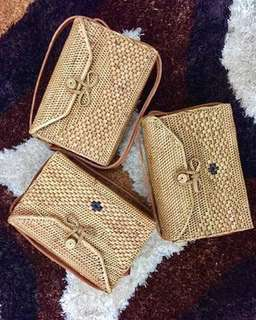 Rattan bag from Bali Indonesia