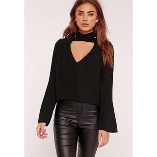 Missguided Choker Top NWT