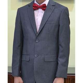 DANSEN Dark Grey Suit