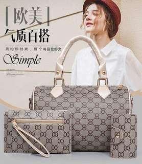 Korean Fashion Bag set