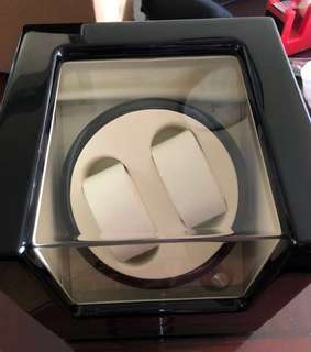 錶盒 全新,機械錶盒,搖錶器,自動上鏈 錶盒 可用電池或火牛 ,$370
