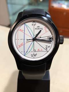 Fortis 2Pi Watch by Rolf Sachs Art limited edition 150隻 超限量 玩味錶面
