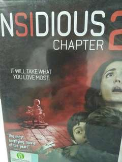 Insidious chapter 2 movie DVD