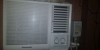 Panasonic window type .75hp aircon