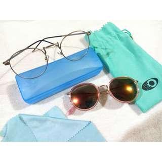 Eyewear Set - Sunglasses and eyeglasses
