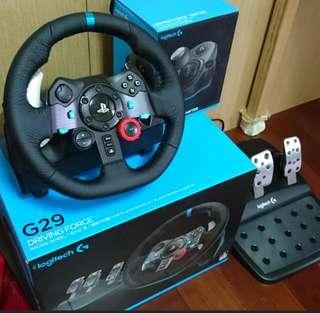 logitech G29 方向盤 ps4 賽車遊戲
