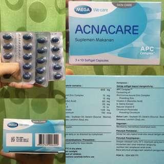 acnacare suplemen (jerawat)