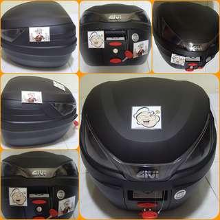 2306--GIVI BOX B27 N2 - wop Smoke Reflector ■■ For Sale !!!Brand New (YAMAHA, Honda, SUZUKI, ETC)