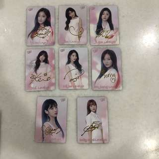 Lovelyz Photocard Set