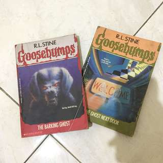 1993 goosebumps english novel import