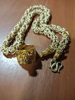 Dragon Rings and Neklace