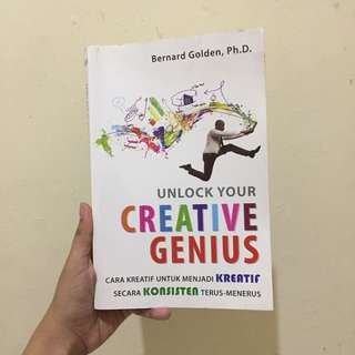 Unlock your creative genius buku motivasi