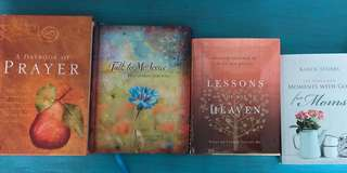 4 Christian books and 1 Christian journal