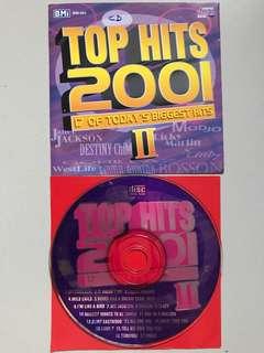 Top Hits 2001 - CD Album.