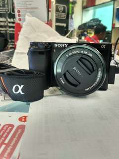 Sony A6000 Kit 16-50mm Mirrorless Kredit Mudah Tanpa CC