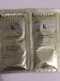 Kerastase Shampoo Samples