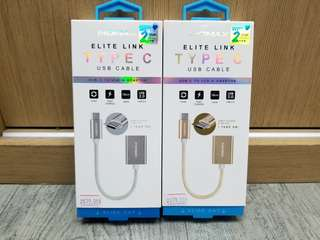 Momax ELITE LINK TYPEC USB CABLE USB-C To USB-A Adaptor 連接線