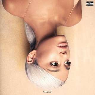 [預訂] Ariana Grande - Sweetener (美版 / 日版 Standard/Deluxe/Limited Edition) CD