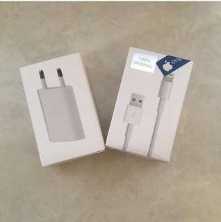 Carger dan kabel data iphone original