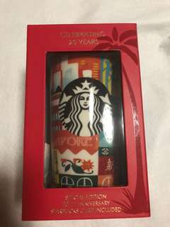 Starbucks 20th anniversary special edition Singapore