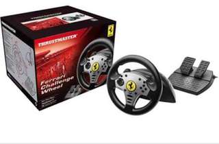 Thrustmaster Ferrari Challenge Wheel for PS3/PC