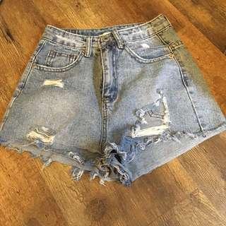 🚚 古著牛仔短褲