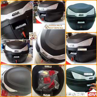 2306--GIVI BOX B27 nt - White Reflector  ■■ For Sale !!!Brand New (YAMAHA, Honda, SUZUKI, ETC)