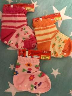 🚚 Baby Girl Socks