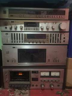 Audio Systems (Cassette Player, Amplifiers)