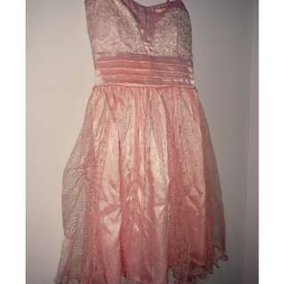 Baby Pink Ball Dress