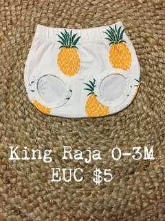 King Raja Organics Nappy Cover