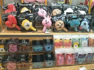 【Korea Buying Service】BT21 Line friends Official Plush Head Mirror