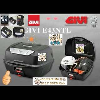 2306---GIVI BOX E43 NTL Mulebox For Sale !!!Brand New (YAMAHA, Honda, SUZUKI, ETC)
