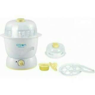 Crown sterilizer CR-1288 multi function steam centre with auto timer