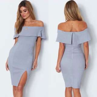 DEBBIE Offshoulder Dress