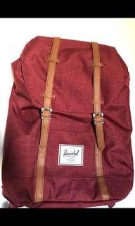 "Herschel Bag - Wine 19L (fits 15"" laptop)"