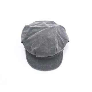 Hat ::: 日系復古抓摺造型報童帽✨藍、杏、灰 三色