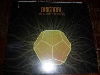 Music CD (Sealed): Diagonal ‎– The Second Mechanism - Prog Rock