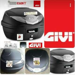 2306---GIVI BOX B360 nt WHITE Reflection For Sale !!!Brand New (YAMAHA, Honda, SUZUKI, ETC)