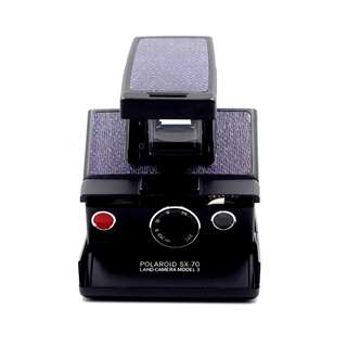 Polaroid SX-70 Black Denim Camera