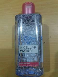 Discounted L'Oreal Micellar Water for Sensitive Skin