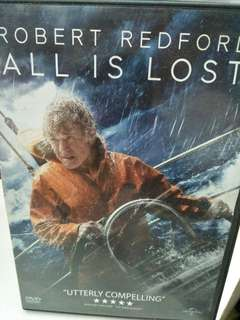 All is lost movie DVD