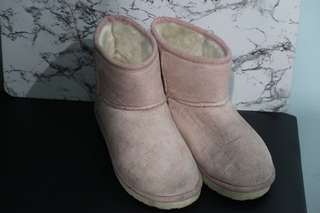 Pink Boots with Soft cotton lining