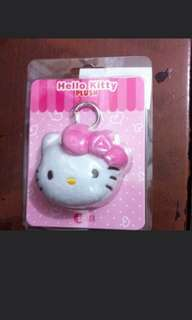 🚚 Brand new hello kitty pink plush charm