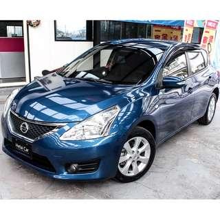 2014 Nissan TIIDA 藍色