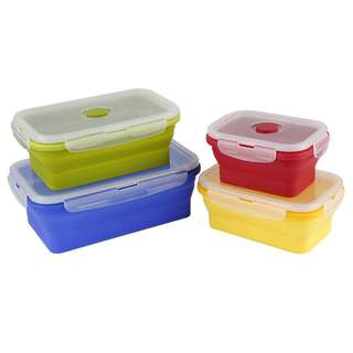 Collapsible Silicon Food Storage